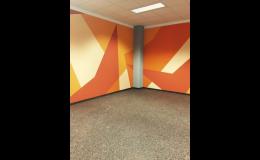 Odborná pokládka podlahy pro fitness centrum či posilovnu, Praha