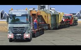 Těžká doprava, NOSRETI a.s., divize Specialtransport