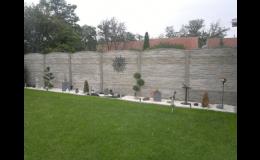 Oboustranné betonové ploty