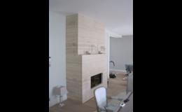 Kamenické práce od PRVNÍ KAMENIA CZ – přírodní i umělý kamenem, originální vybavení domu