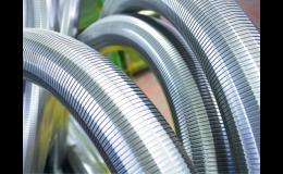 Los componentes metálicos de la empresa Witzenmann Opava