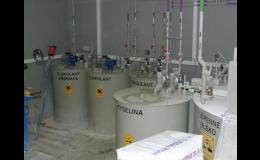 dodávky čistíren vod do průmyslových provozů