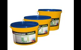 Tomeš-výroba stavebních hmot s.r.o.: interiérové barvy