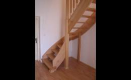 VIPAMA s.r.o., Opava: kancelářský nábytek, schodiště, nábytek na míru