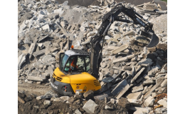 JANKOSTAV s.r.o., Ostrava - Kunčice: recyklace asfaltu a betonu