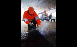 JANKOSTAV s.r.o., Ostrava - Kunčice: výrobou a pokládkou asfaltových materiálů