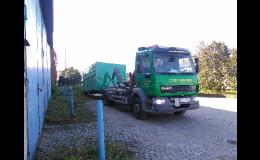 pronájem kontejneru pro stavební odpad a jeho odvoz
