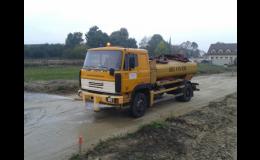 Agentura Hřivna Barrandov, Praha: pronájem cisterny