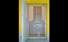 Manus Prostějov - plošiny pro osoby na vozíčku