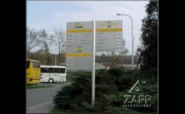 Orientační systémy společnosti ZAPP INFOSYSTÉMY ze Sibřiny u Prahy