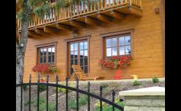precizní a kvalitní srubové domy