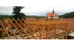Střešní vazníky, Moravský Krumlov