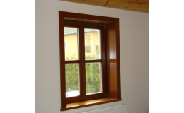 Dřevěná okna, TRONET, spol.s r.o