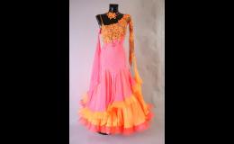 taneční šaty na míru