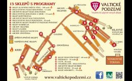 zážitková vinařská turistika - Valtické podzemí