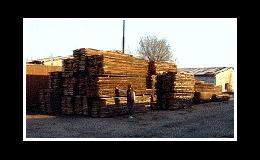 Palivové dřevo, volně sypané i skládané.