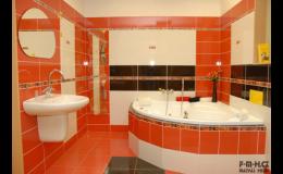 Rekonstrukce koupelen, Moravský Krumlov