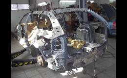 Profesionální karosářské práce vrátí Vašemu autu jeho původní tvář