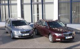 Náhradní vozidla Škoda Superb