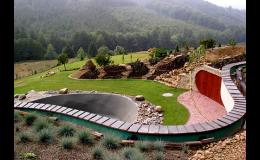 návrhy zahrady či parku - zahradní architektura