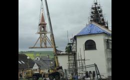 ROGAT s.r.o. - práce na střešních konstrukcích historických objktů