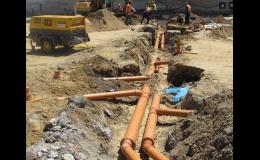 Rekonstrukce - ležatá kanalizace