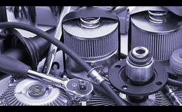 výroba strojů a elektronických komponentů