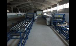 Trapézové plechy - výroba Zlín