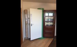 Dveře ve vzorkovně ZAHRADNÍK PARKET