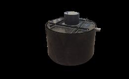 Plastový septik kruhový dvouplášťový