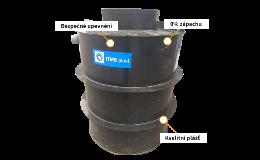 Plastový septik kruhový samonosný