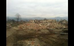 demolice a bourací práce u všech typů staveb
