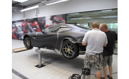 3D fólie na auto