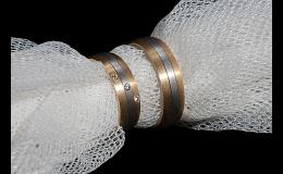 snubní prsteny dle vlastního návrhu