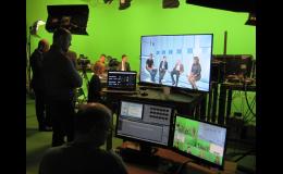 On-line přenosy z virtuálního studia