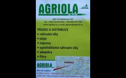 Prodej náhradních dílů na zemědělskou techniku