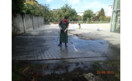 mytí ploch, U-SERVIS