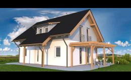 Postavíme tradiční nebo moderní dům podle přání zákazníka.