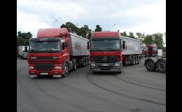 Autodoprava a přeprava sypkých materiálů