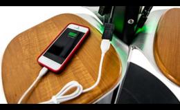 Solární nabíječka Energy Street Charge vás zachrání, když se vám vybije chytrý telefon či jiné zařízení.
