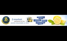 Využijte nákup potravin online s dovozem až k vám domů.