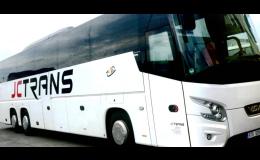 Pohodlné a bezpečné cestování s autobusy JC TRANS.