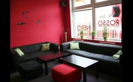Caffé bar Rosso Nero,kavárna, Valašské Meziříčí