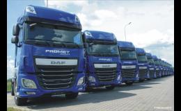 Přeprava sypkých materiálů od Promet logistics