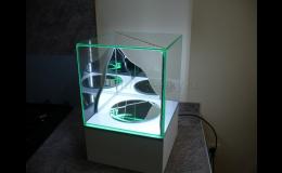 skleněné vitríny pro muzea a mnoho dalších využití