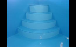 Plastové bazény vyrábí firma Bazény Kostelec