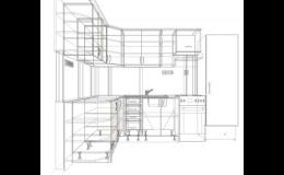 Truhlářství Kafka: kuchyně a vestavěné skříně na míru i zakázková výroba dalšího nábytku.