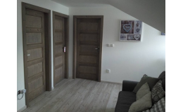 Kartáčované dveře od firmy Tronet