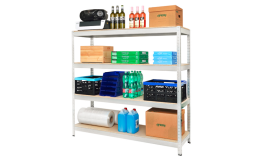 Regály pro domácnosti, sklady, firmy či obchody vyrábí za příznivé ceny KOVONA.