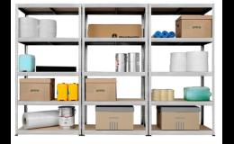 Kovové regály a regálové systémy pro přehledné uskladnění zboží vyrábí společnost KOVONA.